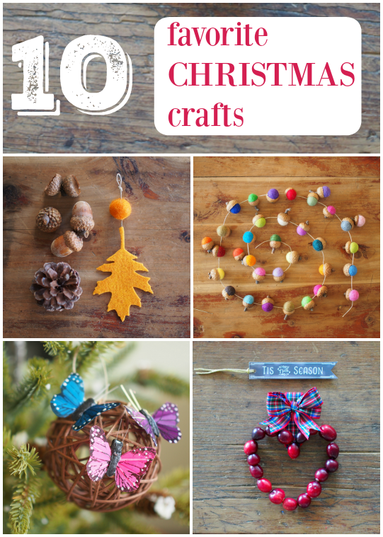 Our 10 Favorite Christmas Crafts :: DIY Tutorials