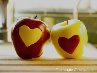 Love Apples and Other Valentine's Crafts