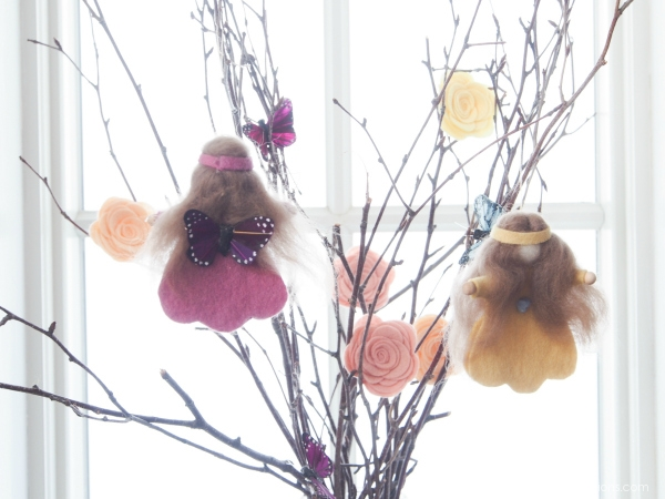 Handmade Spring Fairies :: DIY Felt Tutorial