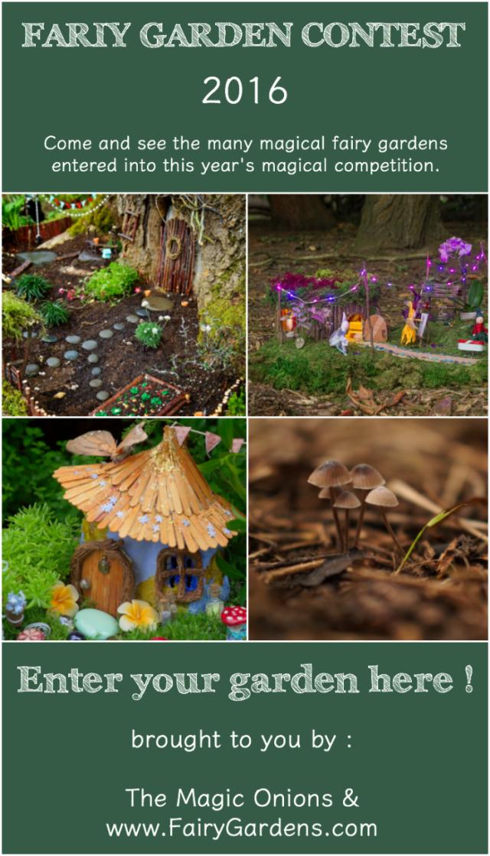 Fairy Garden Contest 2016 :: www.FairyGardens.com
