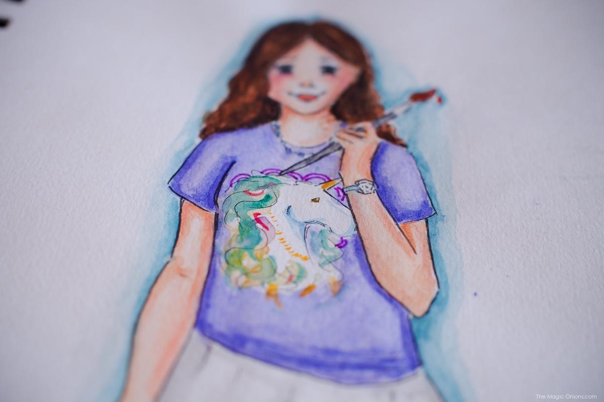 Self Portrait :: Kitty Original :: www.theMagicOnions.com