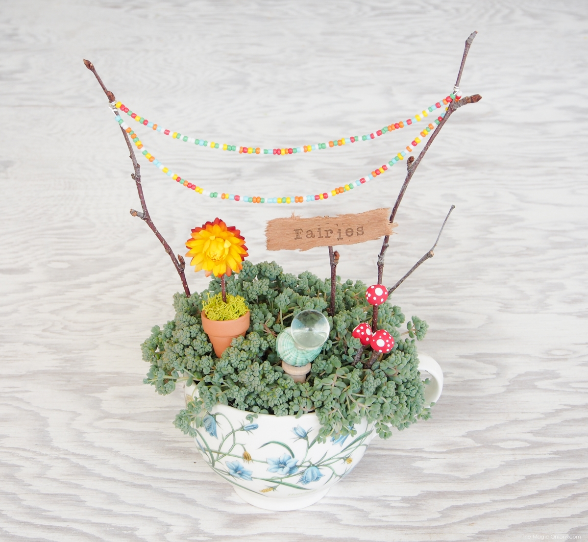 Fairy Garden in a Tea Cup :: A Miniature DIY Tutorial - The Magic ...
