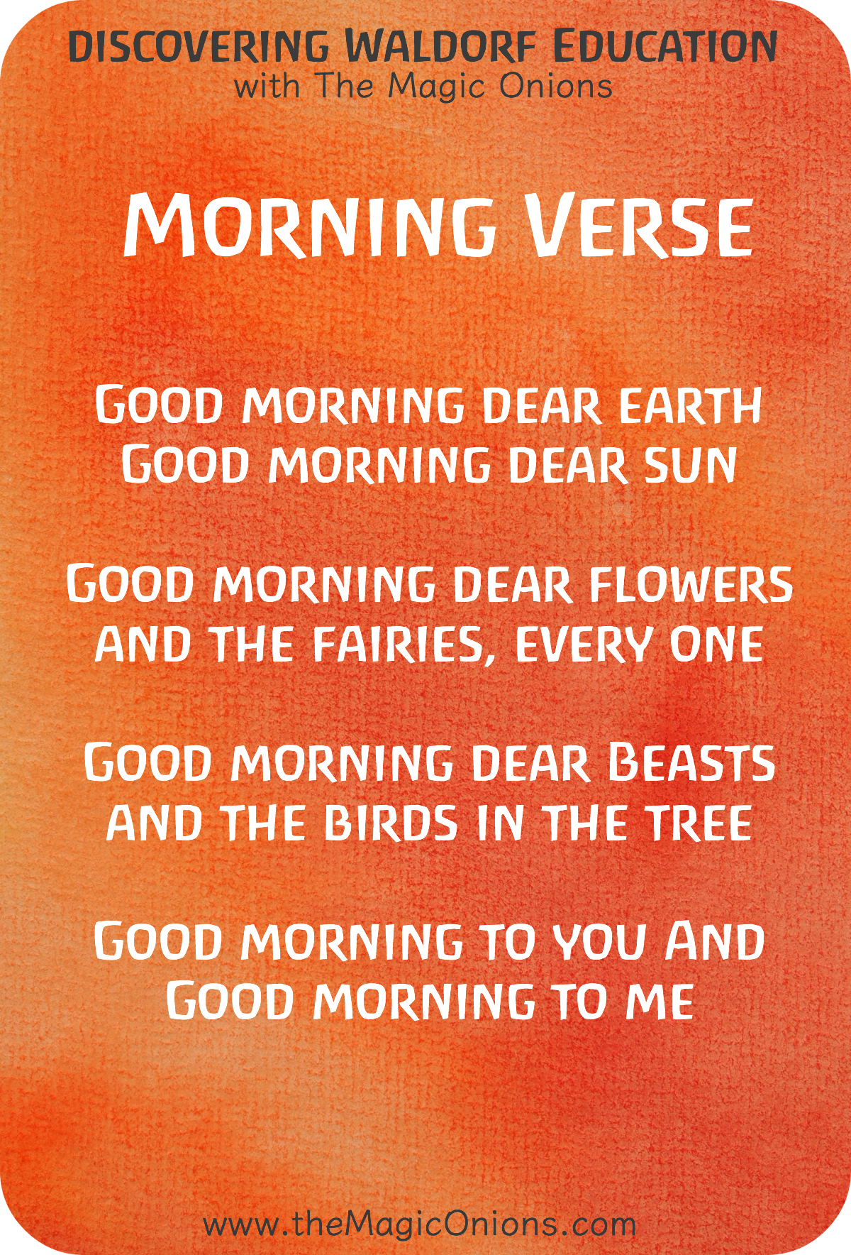 will there be a morning poem Will there really be a morning by emily dickinson includes all aspects of a good poem in line 10, she shows metaphor by saying, oh, some wise man from the skies.