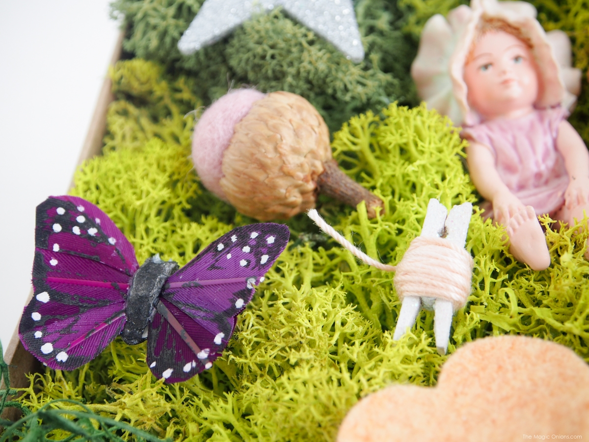 Make the most enchanting fairy gardens with this FAIRY GARDEN DIY KIT IN A BOX from The Magic Onions Shop