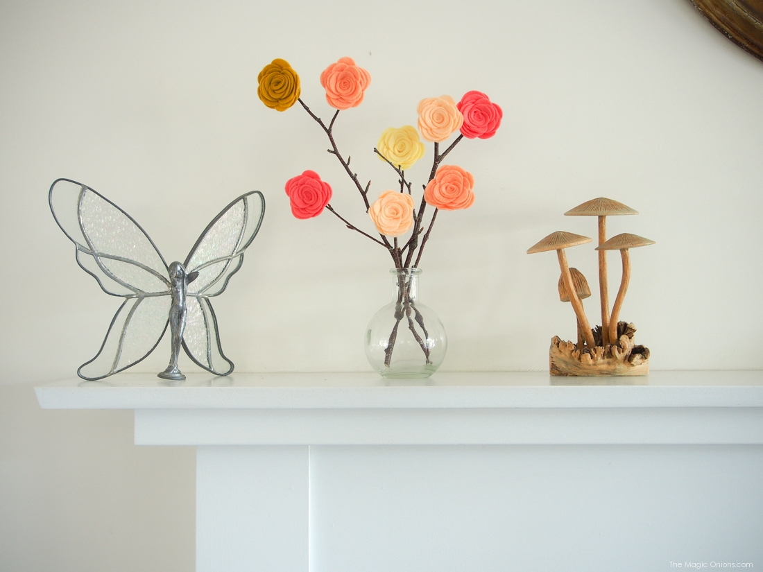 Make BEAUTIFUL Felt Flowers