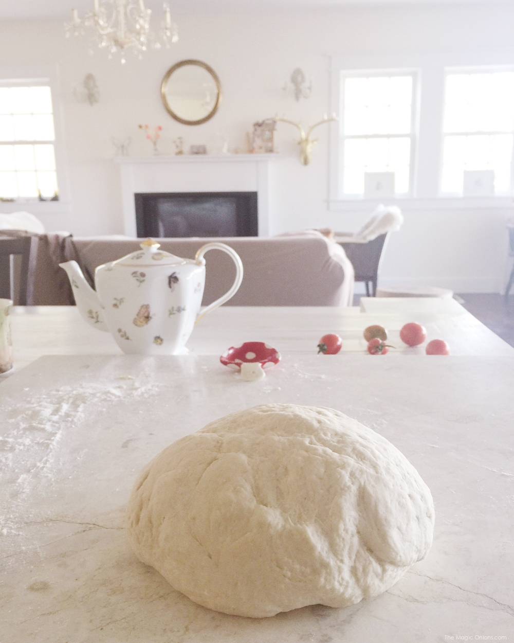 Baking Bread photo from The Magic Onions Blog