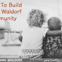 How to Build Your Waldorf Community :: Discovering Waldorf