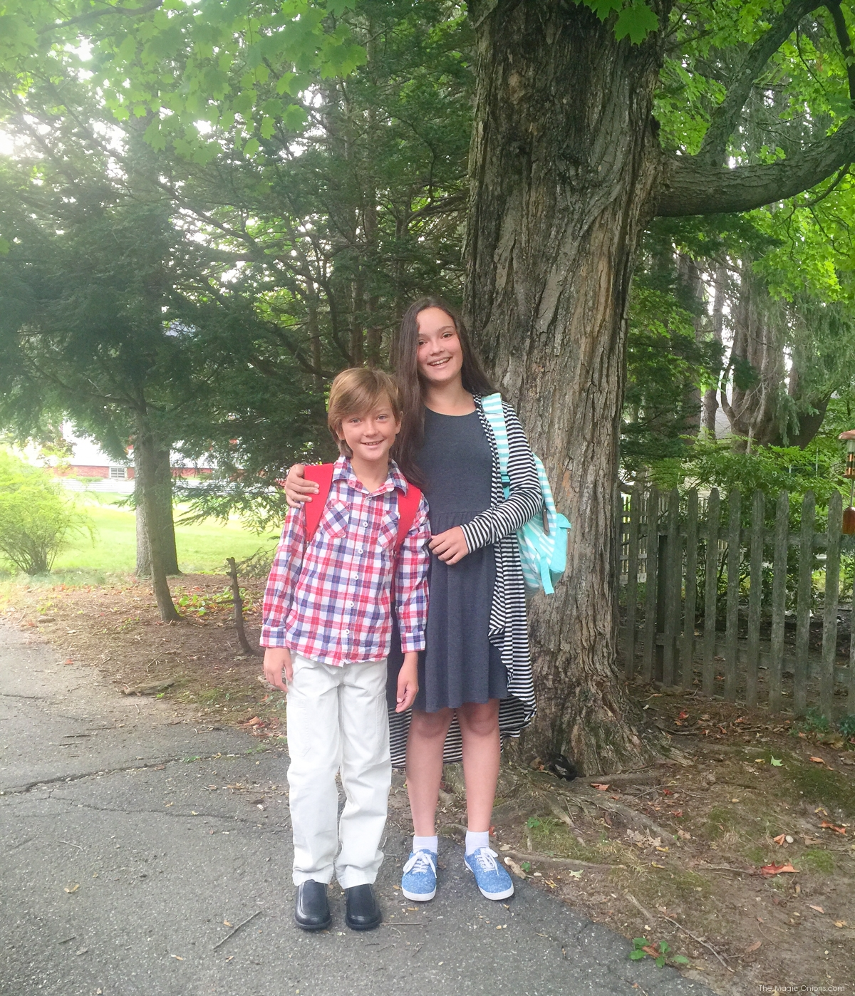 First Day Of Monadnock Waldorf School, Keene, New Hampshire, School Photo on The Magic Onions Blog
