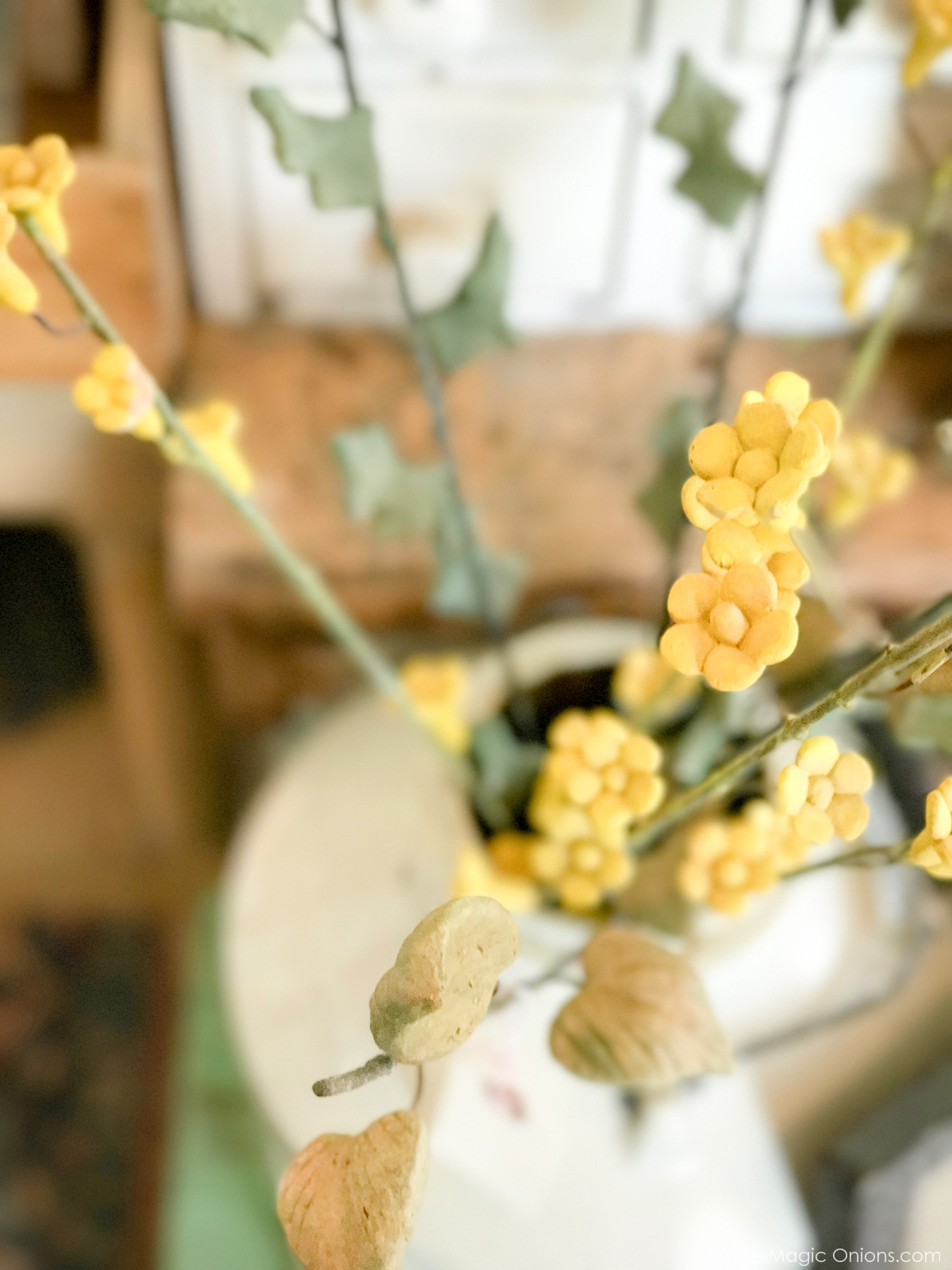 Antique Teracotta Flowers :: The Vintage Trail :: Vermont